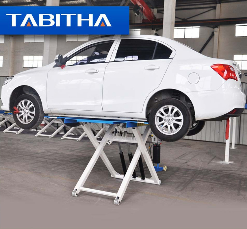 Potable lift easy moving auto lift 2700kgs Movable car scissor lift