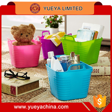Mini candy colors storage box basket soft table container