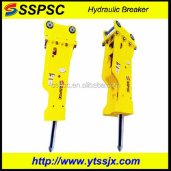 Hydraulic breakers for construction site by Hydraulic power unit
