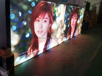 p7.62 indoor full color small size led digit display screen