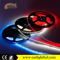 addressable rgb 300 smd led flexible strip 3528 ce rohs dc12v led light strips IP65 waterproof