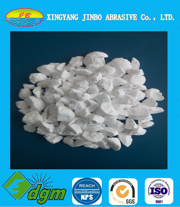 Tabular alumina with High purity and refractoriness