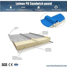 Good Thermal Insulation hot sale polyurethane sandwich panel 200mm