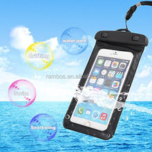 2018 Hot Sale PVC Waterproof Armband Phone Pouch Bag for Xiaomi Redmi Note 3