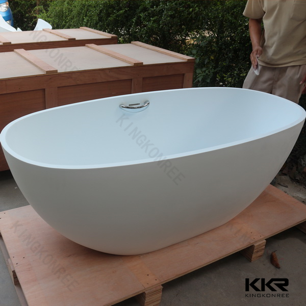 wholesale low price artificial stone small bathroom bathtub