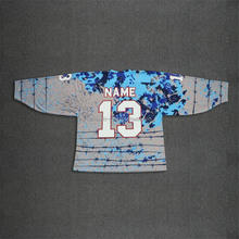 Cheap China factory made professional design breathable sublimation ice hockey jersey