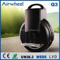 Airwheel factory CE,ROHS certificated mono wheel unicycle leisure exercise and our door sports equipment electrical car