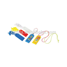 Cheap Flat Football Plastic Whistles