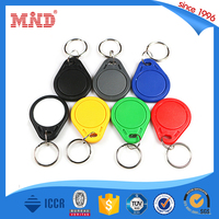MDK226 high quality rfid hotel key card/rfid keychain tag