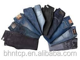 BHNJ820 Mens and Womens Cheap Jeans stock lot available for sale chinese-clothing-manufacturers