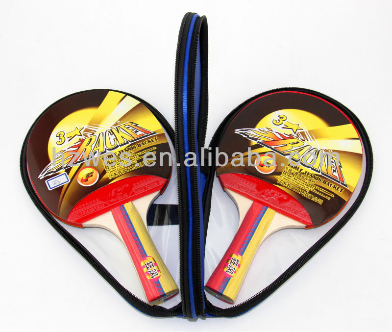 3 Star Table Tennis Racket Set - 896