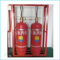 Pipe network automatic HFC-227ea/FM200 fire extinguisher equipment