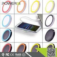Various color Qi Mini Wireless Charger case for htc