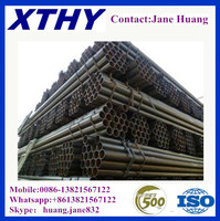 q235 welded annealed black steel pipe square tube furniture pipe building materials