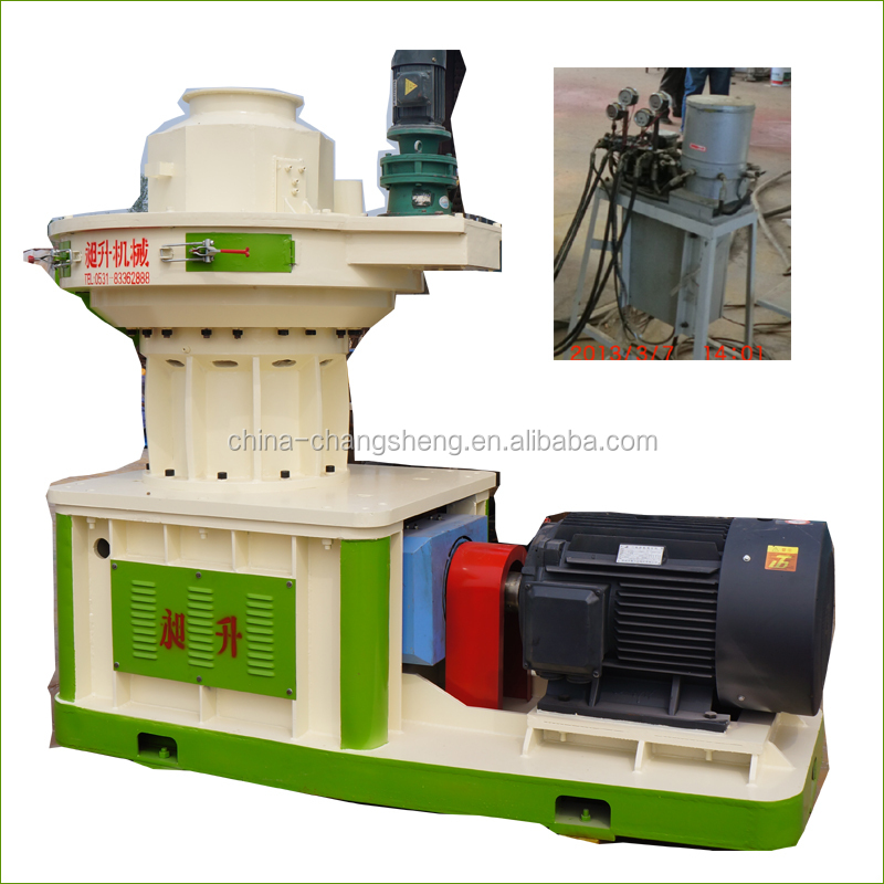 Agro industry wheat / corn straw pellet machine with conveyor belts