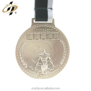 New design metal matte silver competition custom 3d award medals