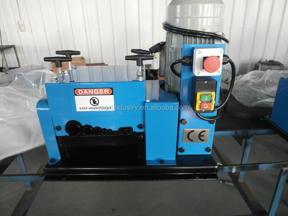 HW-009 Hot Sell Copper Wire Stripper/Cable Making Equipment