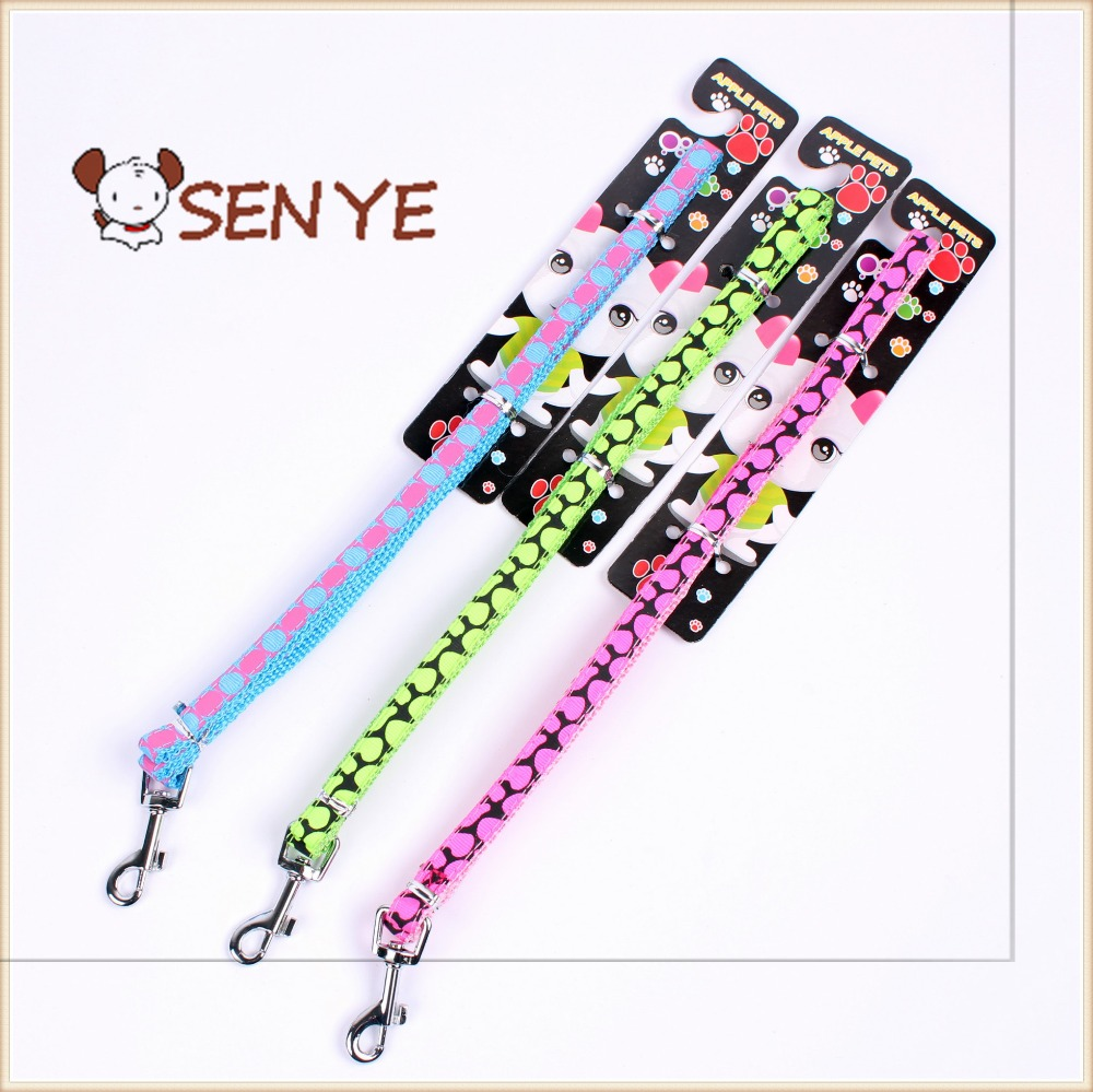 Explosion models Korean version of the printed cartoon pet thoracodorsal traction rope carabiner for dog leash