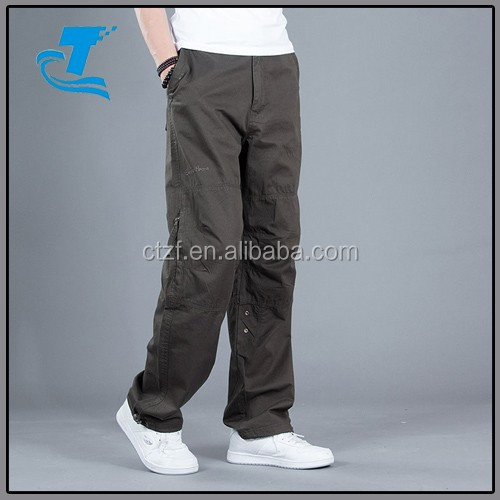 Newest Arrival OEM Cheap Baggy Cargo Pants Men