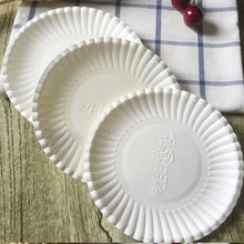 China supplier disposable paper plates raw material dishes