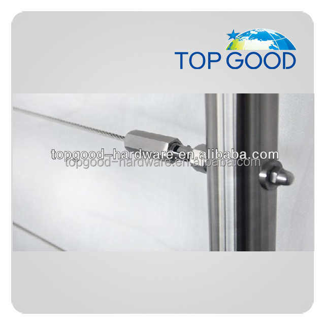 Stainless Steel Railing Wire Rope Tensioner