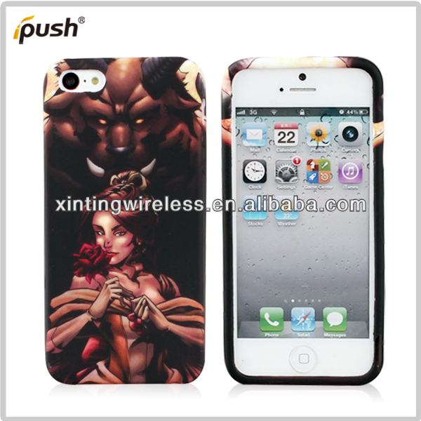 2013 New Attractive Competive TPU Case For Iphone5C,Mobile Phone Case For Iphone5c