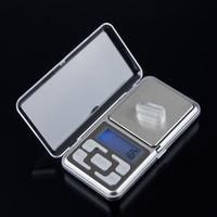 500g x 0.1g Mini Electronic Digital Jewelry Scale Balance Pocket Gram LCD Display Stainless steel