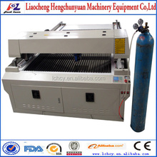 Lowest price customized metal and nonmetal laser cutting machine 150W with auto follow focus