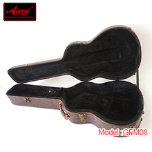 New design guitar with beautiful case of China