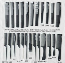 Factory OEM custom carbon plastic printed combs wholesale
