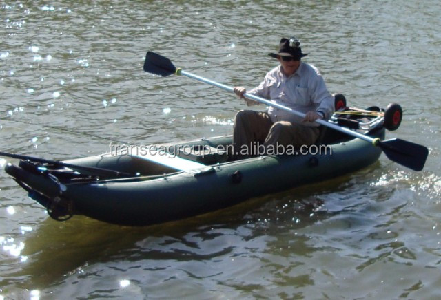 CE certificate folding inflatable double kayak wholesale for fishing and rowing