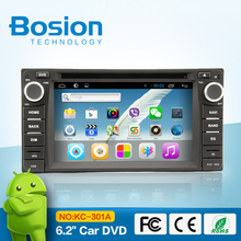 Android system car dvd with reversing camera for Toyota with different functions