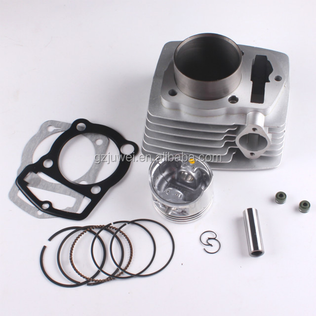 Top quality motorcycle cylinder block for WY200 63.5mm motorcycle cylinder 200cc