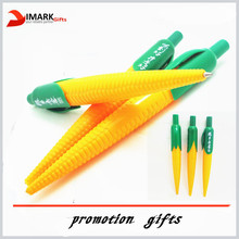 Novelty design Corn Shape Promotional Pen with Character