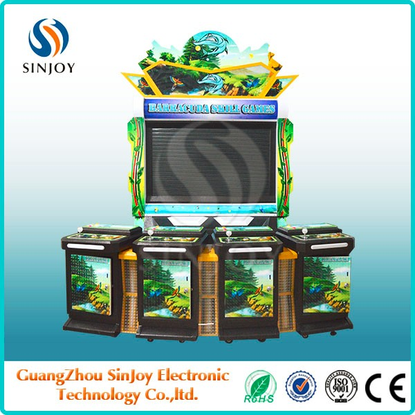 Profitable business fish games indoor table casino gambling machine for sale