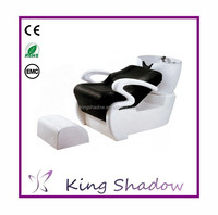 Kingshadow massage shampoo chair lay down washing salon shampoo chair used salon shampoo chair