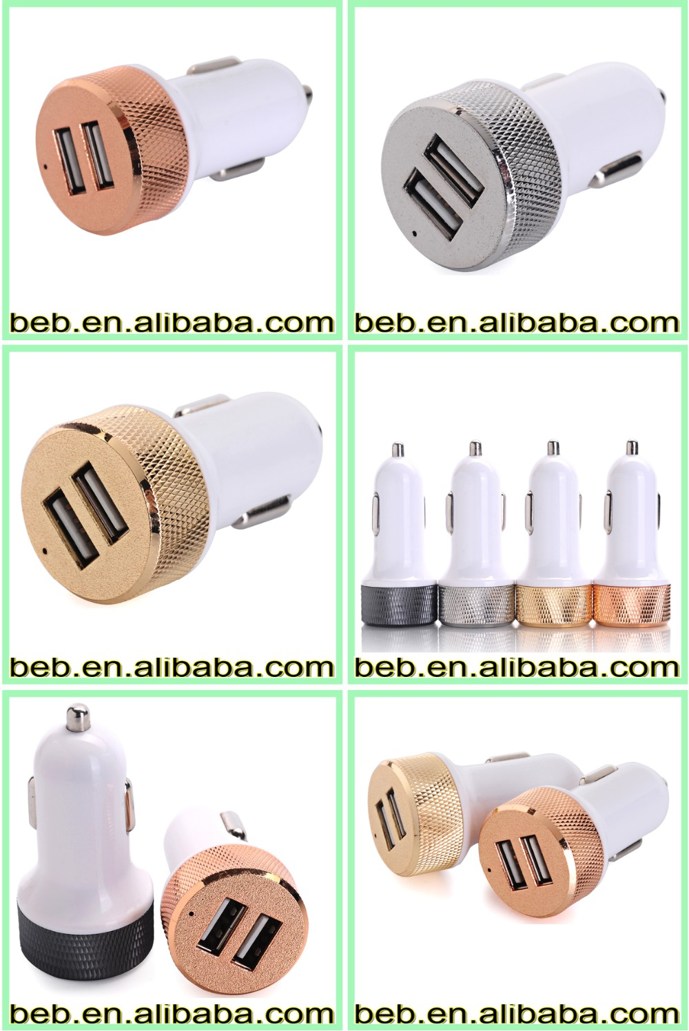 5V 2100MA oem usb car charger for bmw car charger has low wholesale price