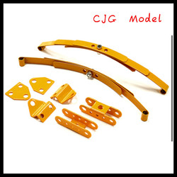 Leaf Spring w /Mounting Kit for 110 Type D90 Off-Road Scale Crawler yellow