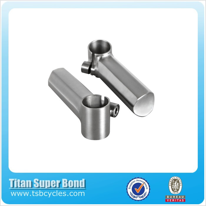 Cheap price titanium bicycle parts bike handle bar ends for sale TSB-BA02