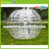inflatable bumper ball soccer bubble human ball tpu pvc bubble football knocker ball