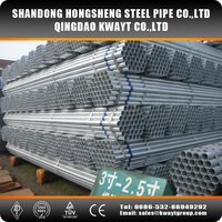 Galvanized carbon steel pipe GI pipe 40""