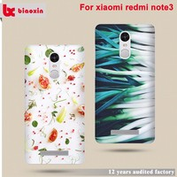 Wholesales creative newest design printed pc for xiaomi note 3 phone case