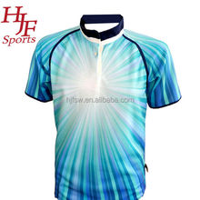 Top quality team training sublimation custom rugby league jersey for promotion
