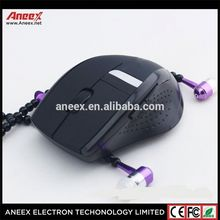 Newest cool design Colorful Lights Wireless Mouse, 2.4G Wireless Mice Mouse for Laptop PC