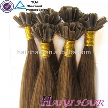 Different Types Of pre-bonded hair u tip hair extension