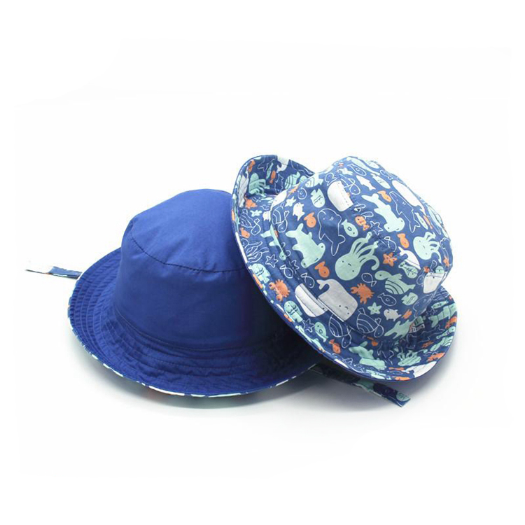 New Design Cartoon Baby Summer Sun Hat with String