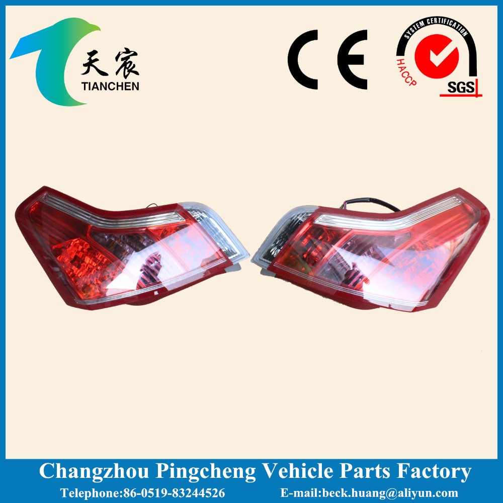 tail lamp or ear bumper for citroen C4
