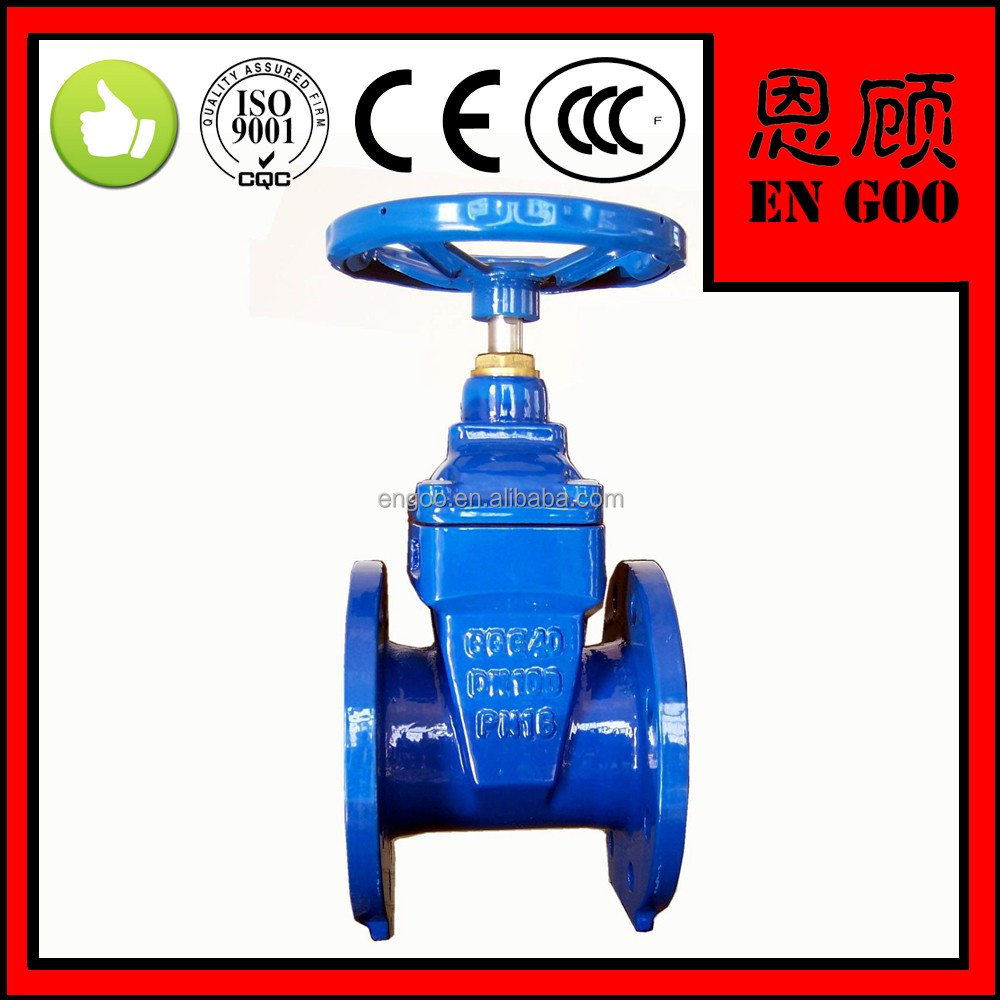 "2016 red fire fighting Fire Protection Valve flanged gate valve 2"" to 8""High Pressure Rising ductile cast iron stem gate valve"