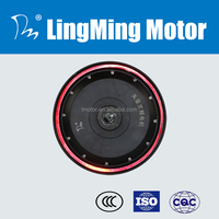 72v 4kw electric dc wheel hub motor for high speed electric scooter