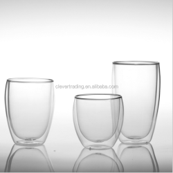 250ml/350ml/450ml Double Wall Beer Glass